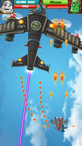 PANDA FIGHTER PLANE: AIR COMBAT 2020 GAMES android2mod screenshots 3