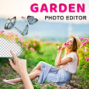 Garden Photo Frame : Cut Cam Editor APK