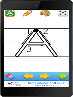 123s ABC Kids Handwriting Game- screenshot thumbnail
