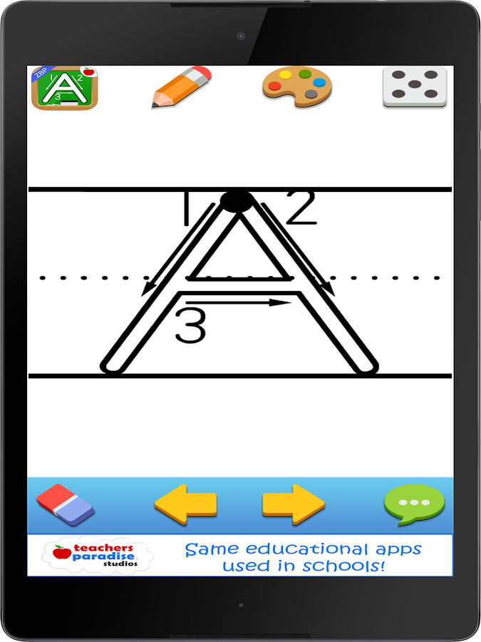 123s ABC Kids Handwriting Game- screenshot
