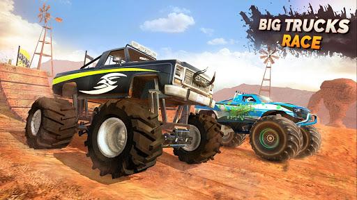 Monster Truck OffRoad Racing Stunts Game 1.7 screenshots 6