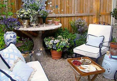 小さな庭のアイデア
