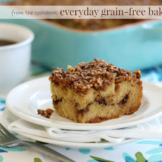 Cinnamon Crumb Coffee Cake (Grain-Free, Dairy-Free Option)
