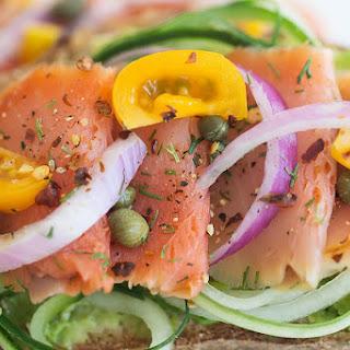 Refreshing Smoked Salmon Keto Avocado Toast Recipe