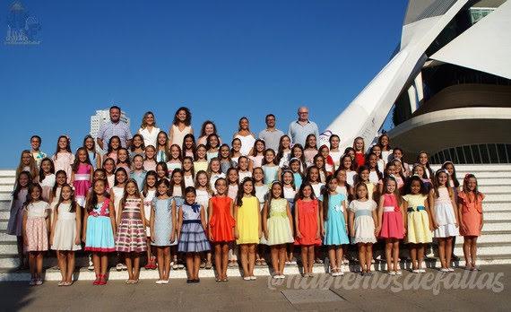 Candidatas a Cortes de Honor y Falleras Mayores de Valencia 2020
