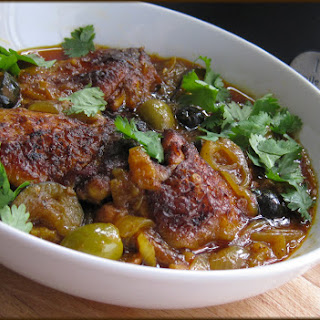 Chicken Tagine with Olives and Preserved Lemons Recipe