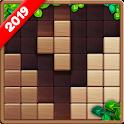 Wood Block Puzzle Game 2019 icon
