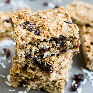 Healthy Coconut Oatmeal Bars Recipes.