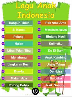 Lagu Anak Indonesia Terpopuler - náhled