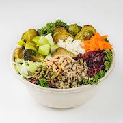 Brussels, Kale & Quinoa Salad