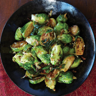 Sautéed Brussels Sprouts With Coconut