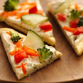 Easy Crescent Veggie Pizza.