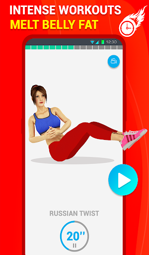 Six Pack Abs Workout 30 Day Fitness: HIIT Workouts 39.0 screenshots 17