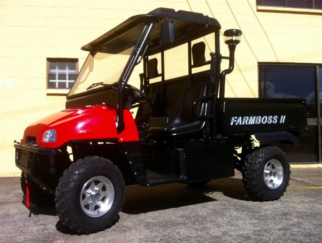 1000cc FarmBoss Daihatsu Diesel UTV 4x4 Farm Utility Vehicle Ag Side By Side Ute