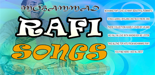 Mohammad Rafi Songs - Apps on Google Play
