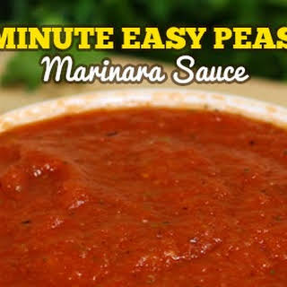 5 Minute Marinara Sauce.