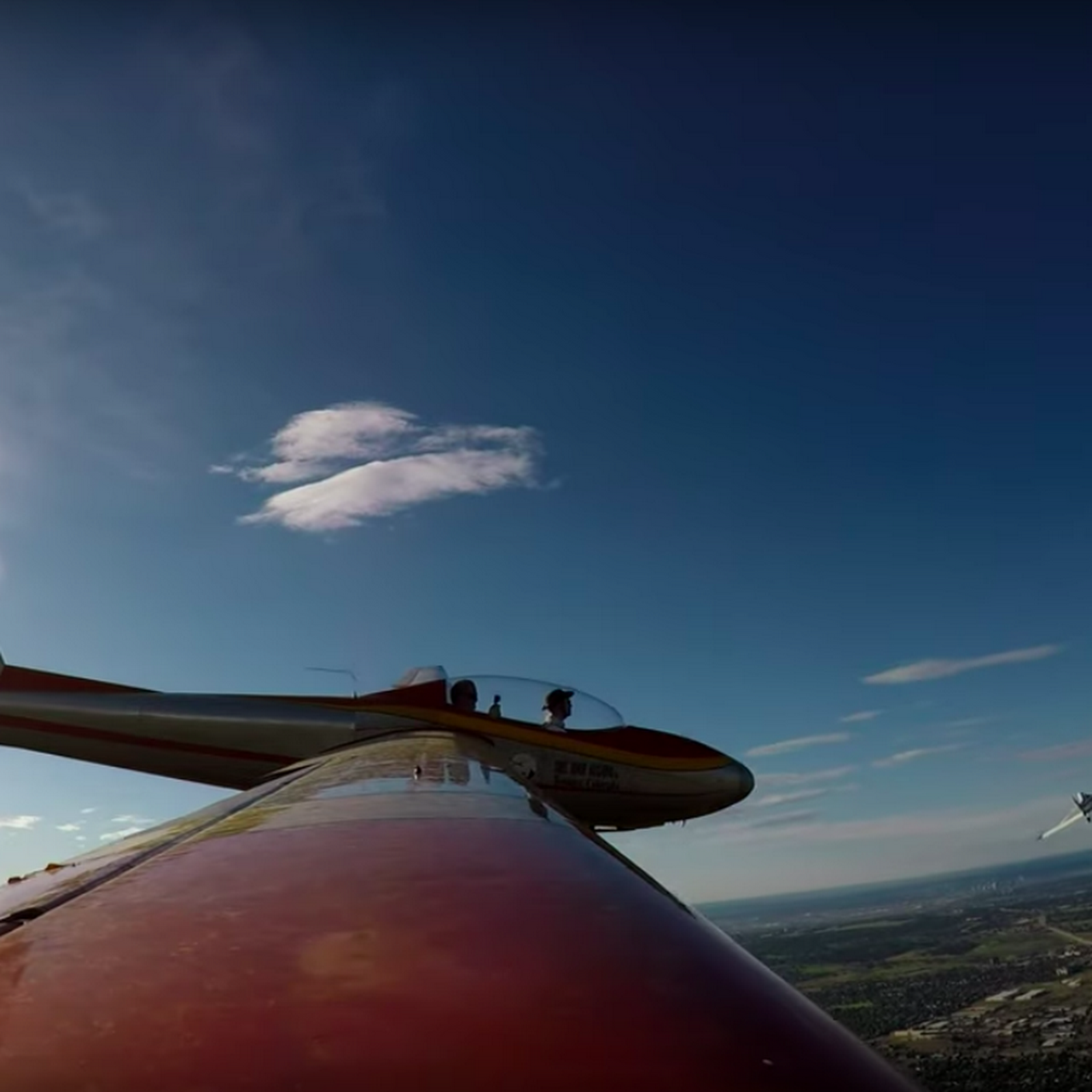 Mile High Gliding - Sailplane touring rides, rentals, and flight