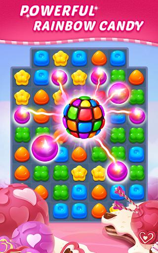 Sweet Candy Puzzle: Crush & Pop Free Match 3 Game apkdebit screenshots 7