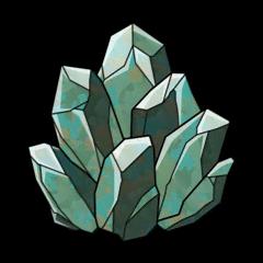 桔梗の鉱石