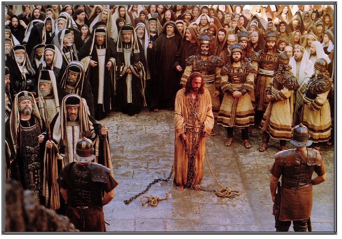 Kết quả hình ảnh cho Chúa Giê-su bị thẩm vấn, nhạo báng và đưa ra xét xử