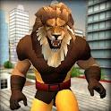 Scary Lion Crime City Attack icon