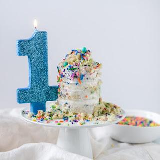 Mini Sprinkle Smash Cake