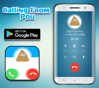 Call From The Pou - Fake Call - náhled