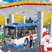 Gas Station Tourist Bus Driving Simulator