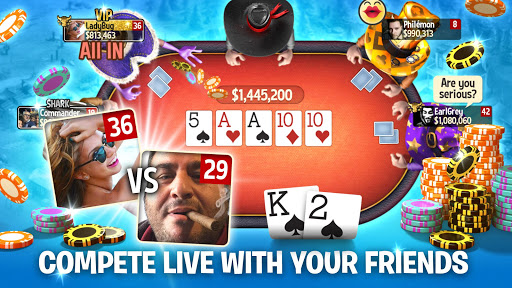 Governor of Poker 3 - Texas Holdem Poker Online