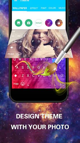 Emoji Keyboard Cute Emoticons - Theme, GIF, Emoji Android App Screenshot