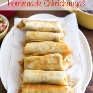 Homemade Chimichangas