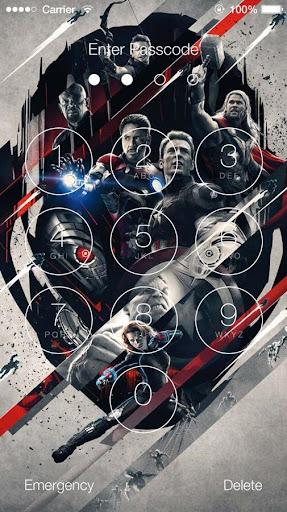 Avengers: Age of Ultron Lock Screen 1.4 screenshots 5