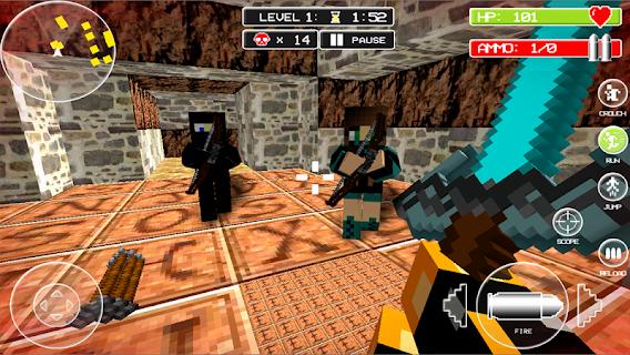 Block Mortal Survival Battle screenshot 01
