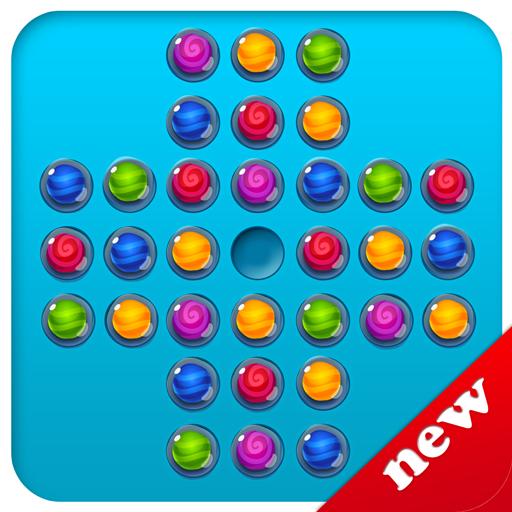 棋类游戏のペグソリティアボードパズル LOGO-記事Game