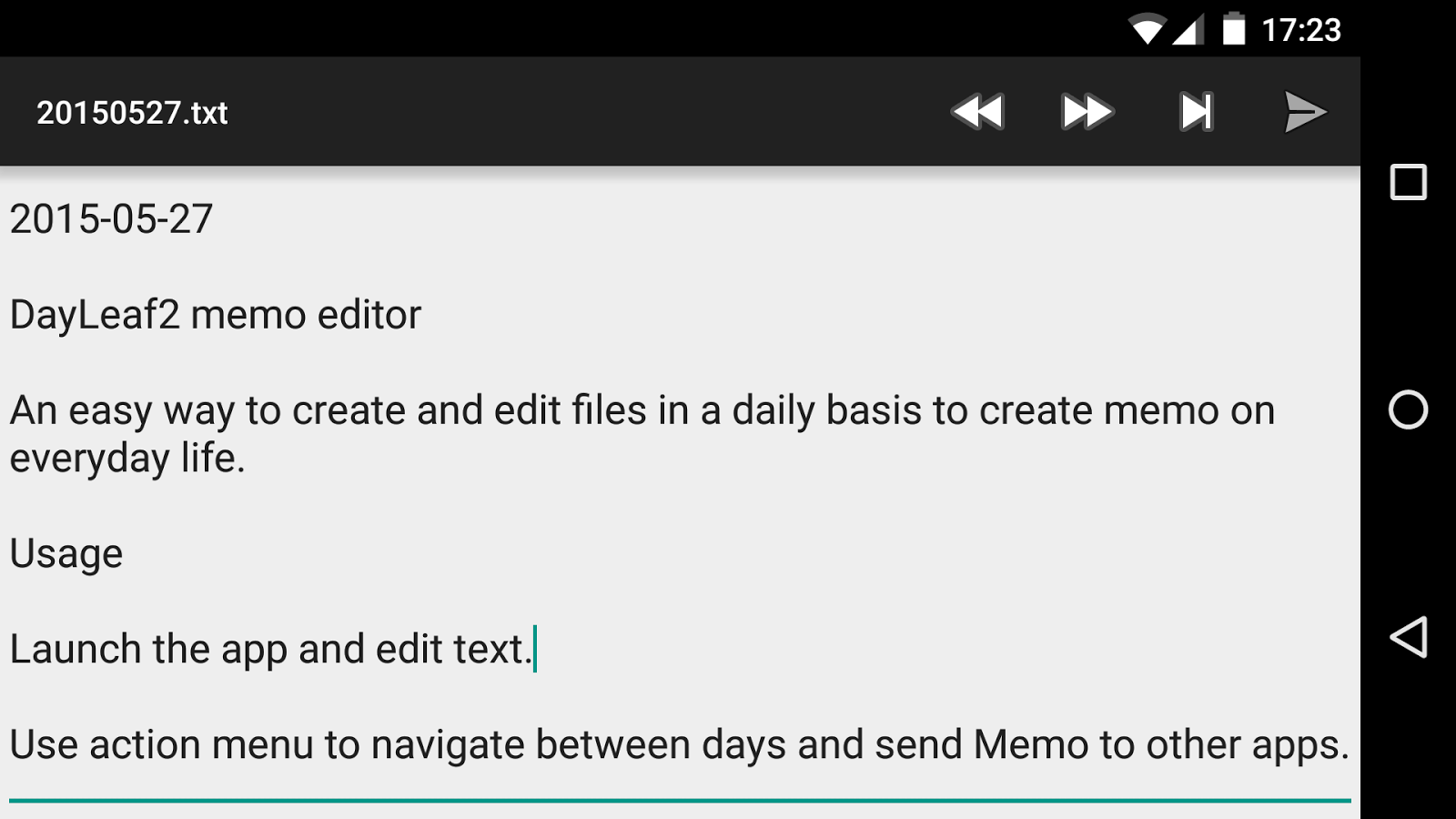dayleaf memo editor android apps on google play dayleaf2 memo editor screenshot