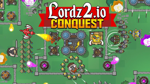 Télécharger Gratuit Lordz2.io Conquest - RTS Multiplayer IO Game apk mod screenshots 1