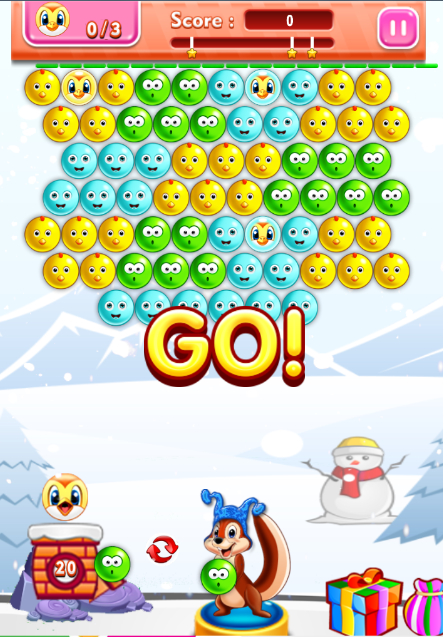 PET BUBBLE SHOOTER- screenshot