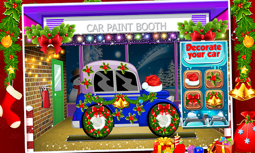 Christmas Santa Car Repair and Wash - náhled