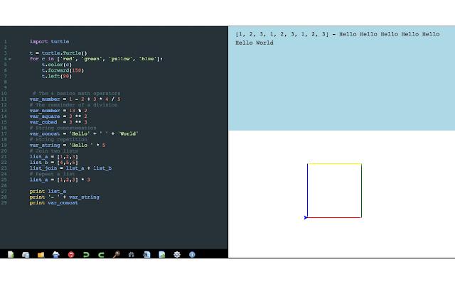 Your Python Editor (Beta)