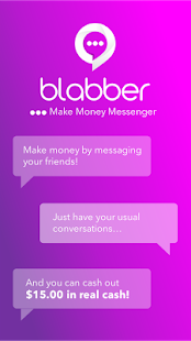Blabber - Make Money Messenger - náhled