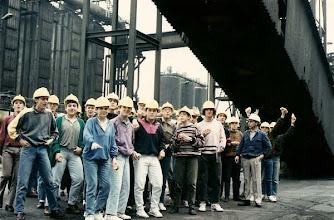 Photo: Fran Pérez Andrés no envía esta foto de 1990, DE UN VIAJE A ENSIDESA EN 2º DE BUP.
