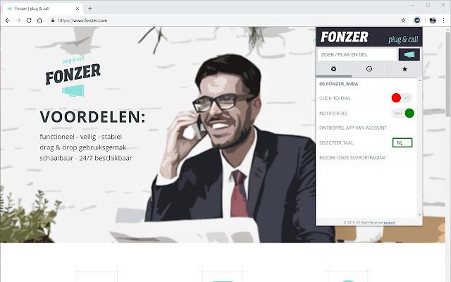 Fonzer plug & call