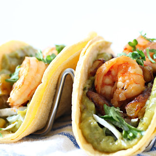 Sweet Plantain & Shrimp Tacos