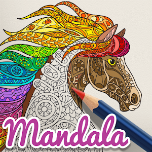 Mandala Coloring Book Free - Drawing App Kids - Android Apps on ...
