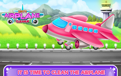 Dirty Airplane Cleanup 1.0.1 screenshots 1