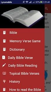 King James Bible App - offline - náhled