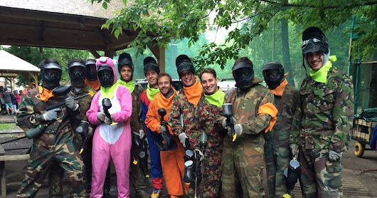 Indoor paintball session with Francisco Palma