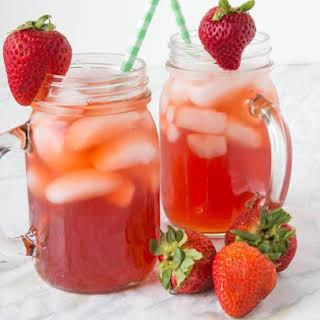 Strawberry Sweet Tea.