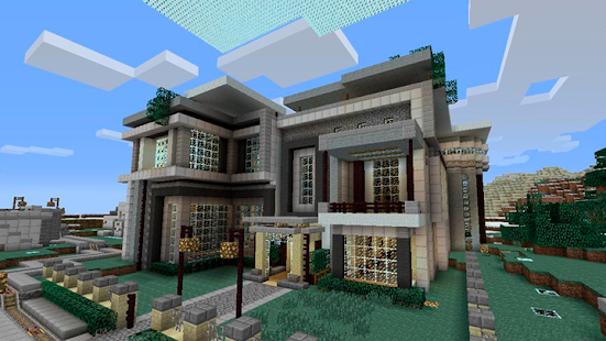 modern houses for mcpe maps for minecraft apps no google play