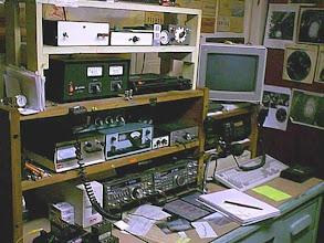 Photo: Station WB9OTX a few years ago